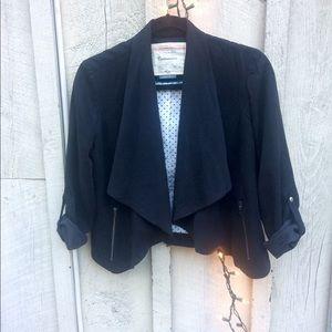 Anthropologie Cartonnier black jacket